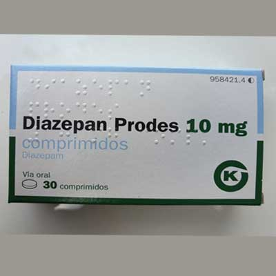 Diazepam Prodes 10 mg