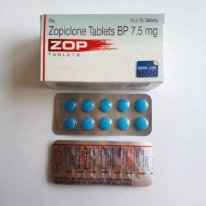 Zopiclone Tablets (Blue)